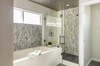 Fiorito Interior Design, interior design, remodel, master bathroom, shower, tub