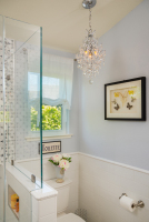 Fiorito Interior Design, interior design, remodel, master bathroom, traditional, tub, shower, mosaic tile