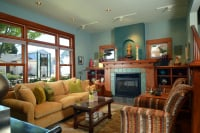 Fiorito Interior Design, interior design, remodel, living room, ethnic, eclectic, sofa, chairs, fireplace, Craftsman